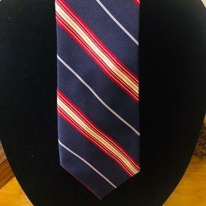 IKE BEHAR Woven Silk Luxury Power Necktie